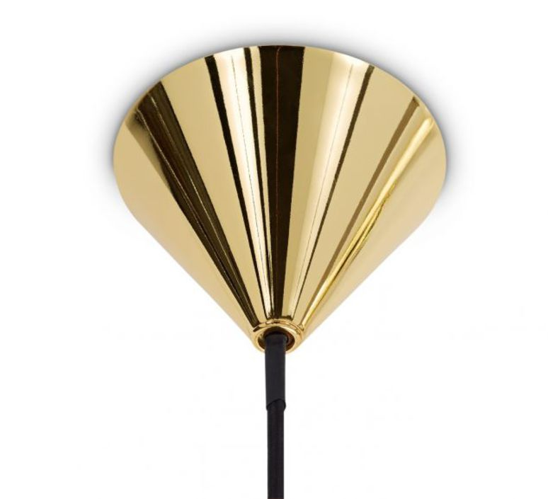 Plane drop chandelier tom dixon suspension pendant light  tom dixon sll05beu  design signed 48634 product