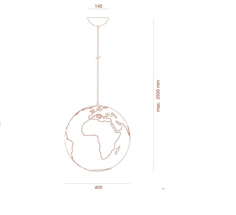 Planet earth benjamin hopf formagenda 150 10 luminaire lighting design signed 16668 product