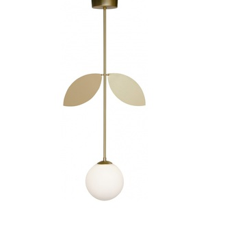 Suspension plant laiton o15cm h78cm atelier areti normal