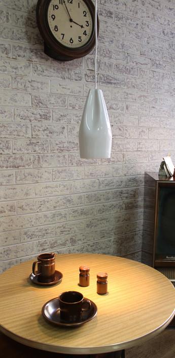 Suspension pleat box blanc h26cm marset normal