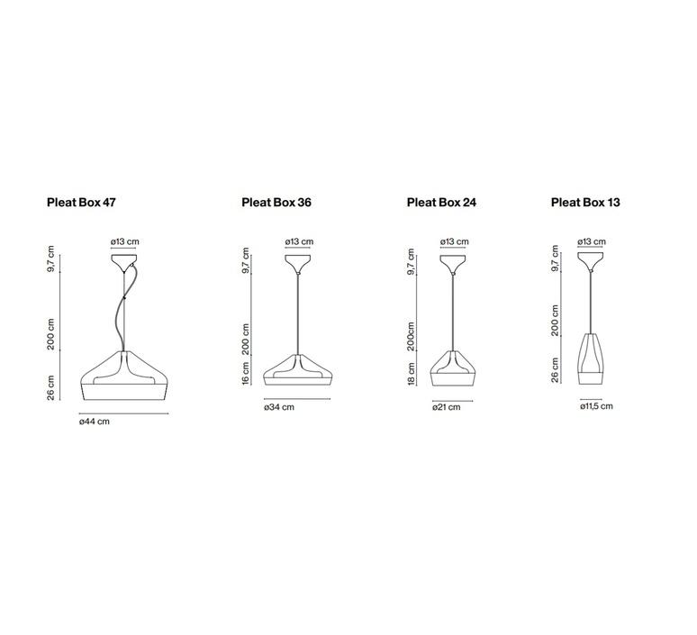 Pleat box xavier manosa mashallah suspension pendant light  marset a636 225  design signed 40432 product