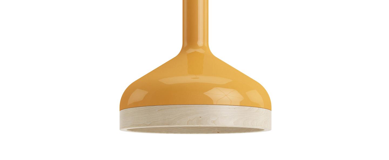 Suspension plera orange o22cm h20cm zanolla normal