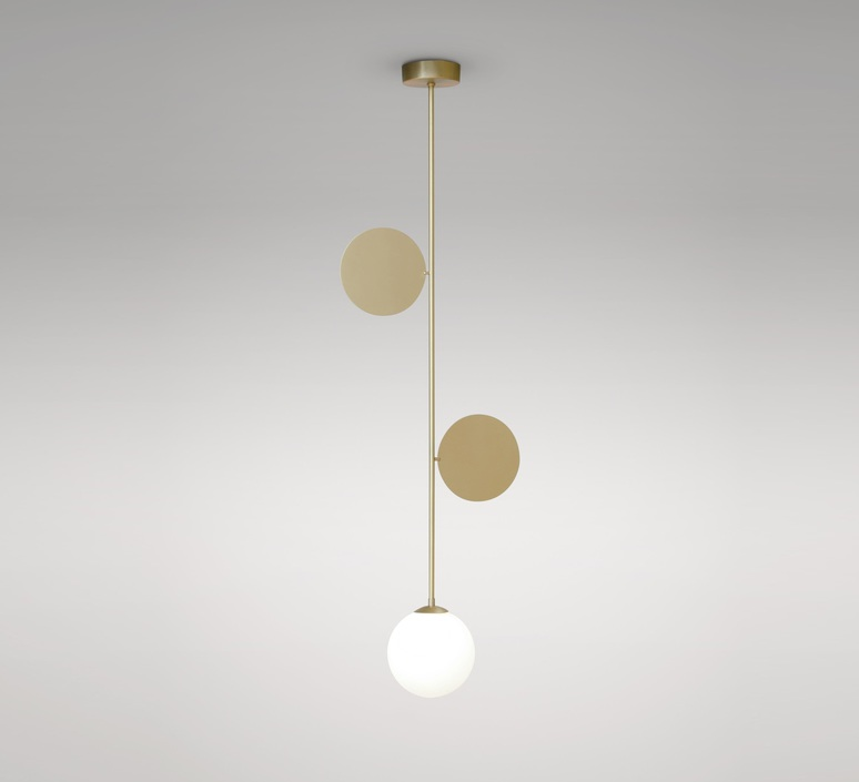 Pltes pendant gwendolyn et guillane kerschbaumer suspension pendant light  atelier areti plates pendant  design signed 82294 product