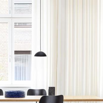 Suspension pong noir o25cm h10cm nyta normal