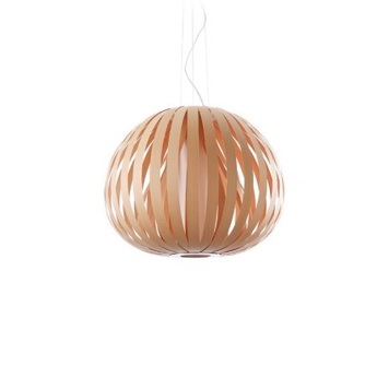 Suspension poppy bois naturel d hetre o73cm lzf normal