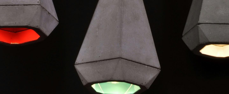 Suspension portland gris blanc h27cm innermost normal