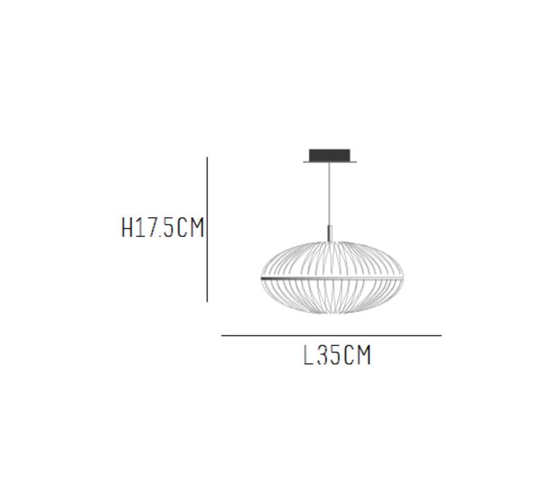 Precious l celine wright suspension pendant light  celine wright 000 pre 003 200 pre 001  design signed 54030 product