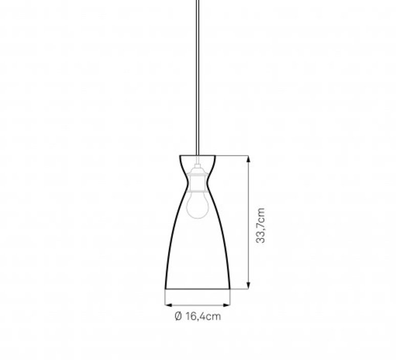 Pretty l jj00 suspension pendant light  nyta pretty long 2 2  design signed 46506 product