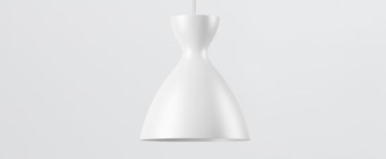 Suspension pretty s blanc mat o16 4cm h18 1cm nyta normal