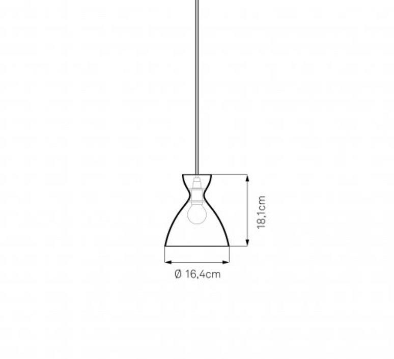 Pretty s jj00 suspension pendant light  nyta pretty small 2 2  design signed 46496 product