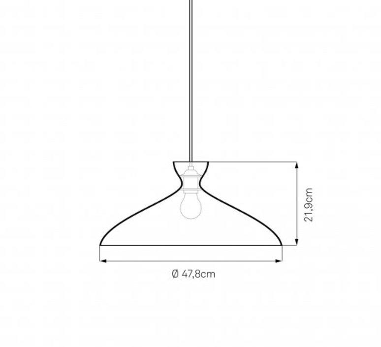 Pretty wide jj00 suspension pendant light  nyta pretty wide 1 2  design signed 46525 product