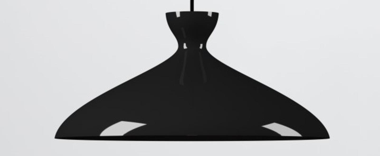 Suspension pretty wide noir brillant o47 8cm h21 9cm nyta normal