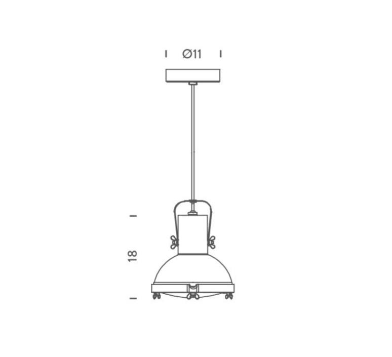 Projecteur 165 charles le corbusier suspension pendant light  nemo lighting prp fws 51  design signed 58260 product
