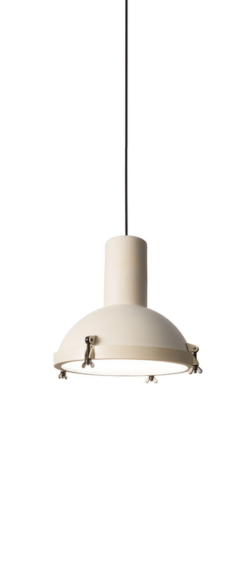 Suspension projecteur 365 blanc o37cm h38cm ip54 nemo lighting normal