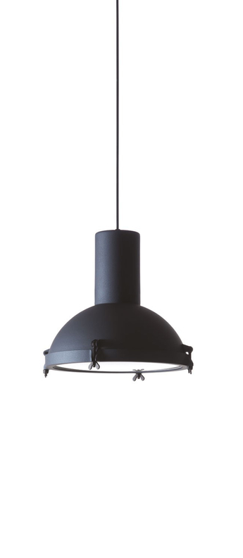 Suspension projecteur 365 bleu o37cm h38cm ip54 nemo lighting normal