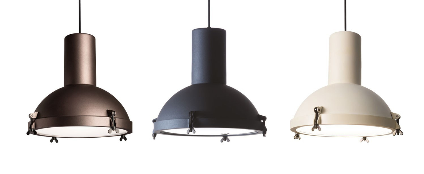 Suspension projecteur 365 moka o37cm h38cm ip54 nemo lighting normal