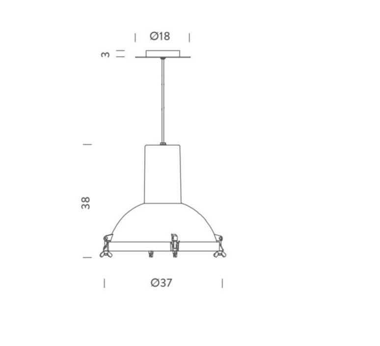 Projecteur 365 charles le corbusier suspension pendant light  nemo lighting prj ems 5e  design signed 58160 product