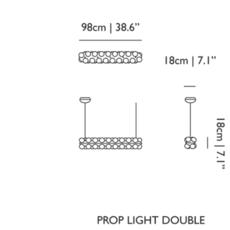 Prop light double  bertjan pot suspension pendant light  moooi molpr0sd36wa   design signed 38589 thumb