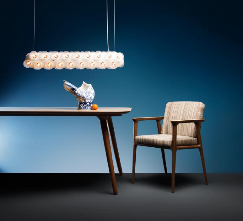 Prop light double horizontal bertjan pot suspension pendant light  moooi molpr0dh36wa   design signed 38596 product