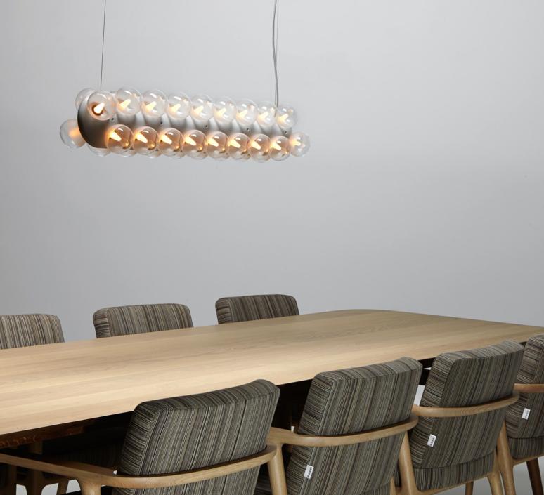 Prop light double horizontal bertjan pot suspension pendant light  moooi molpr0dh36wa   design signed 38597 product