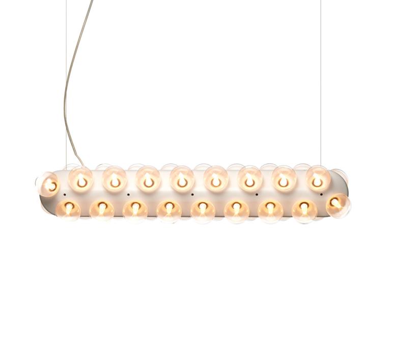 Prop light double horizontal bertjan pot suspension pendant light  moooi molpr0dh36wa   design signed 38600 product