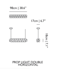 Prop light double horizontal bertjan pot suspension pendant light  moooi molpr0dh36wa   design signed 38601 thumb