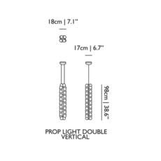 Prop light double vertical bertjan pot suspension pendant light  moooi molpr0dv36wa   design signed 38603 thumb