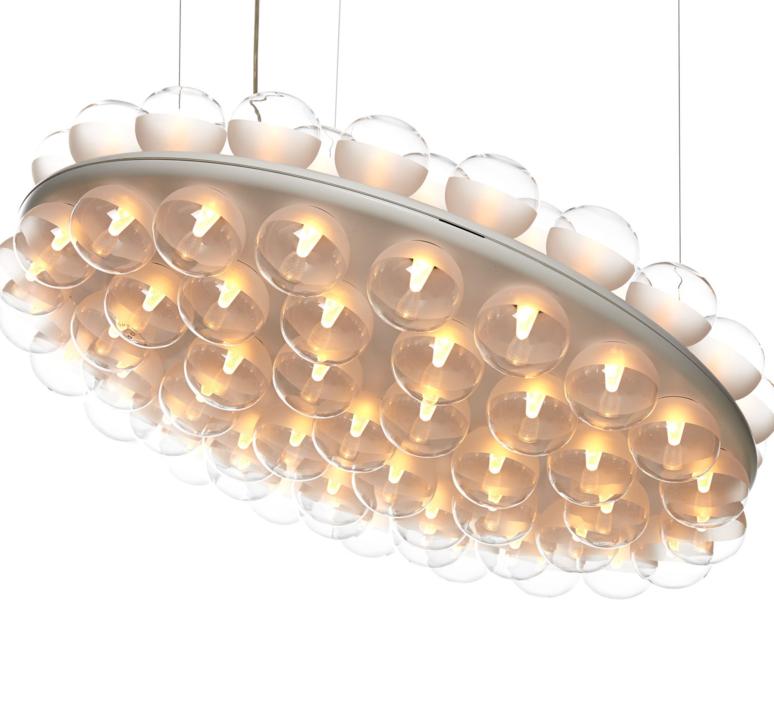 Prop light round double  bertjan pot suspension pendant light  moooi molpr1sd96wa   design signed 38594 product