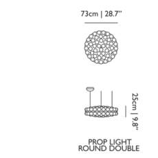 Prop light round double  bertjan pot suspension pendant light  moooi molpr1sd96wa   design signed 38595 thumb