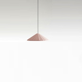 Suspension pu erh 21 rose led dimmable o21cm h8 5cm marset normal