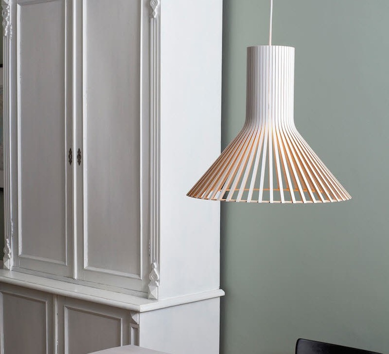 suspension puncto blanc 45cm secto design luminaires nedgis. Black Bedroom Furniture Sets. Home Design Ideas