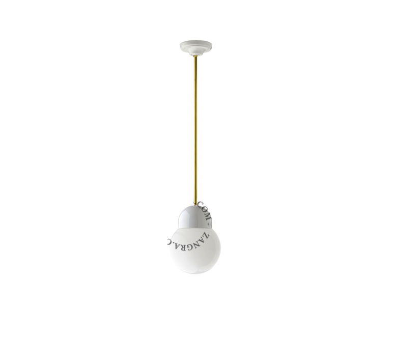 Pure porcelaine glass 006 opalin  suspension pendant light  zangra light 036 024 w go 006  design signed 37876 product