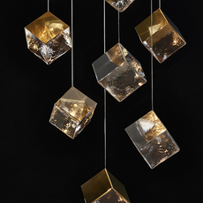 Pyrite studio dechem suspension pendant light  bomma or wout canopy  design signed nedgis 118115 thumb