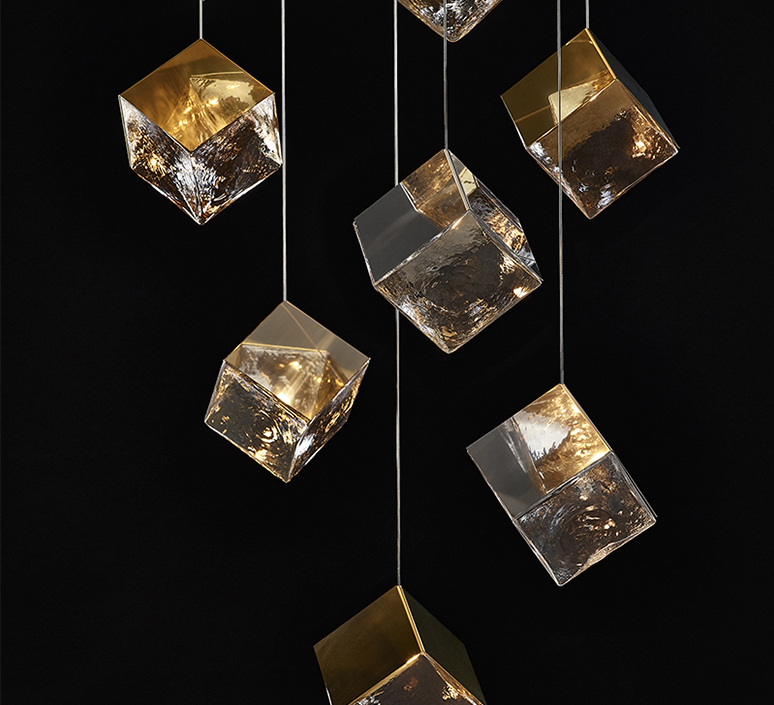 Pyrite studio dechem suspension pendant light  bomma or w canopy  design signed nedgis 118105 product