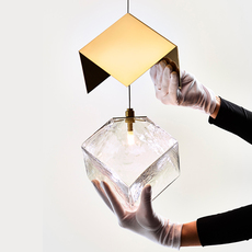 Pyrite studio dechem suspension pendant light  bomma or w canopy  design signed nedgis 118109 thumb