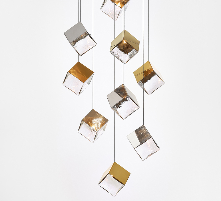 Pyrite studio dechem suspension pendant light  bomma or w canopy  design signed nedgis 118110 product