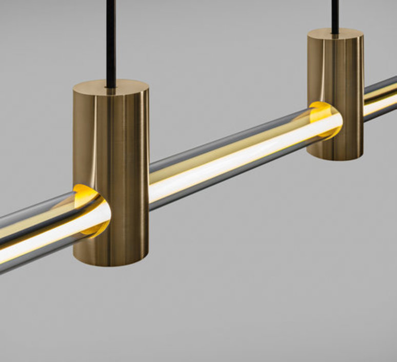 Ra line alexandre joncas gildas le bars suspension pendant light  d armes raliambz2 cable112  design signed nedgis 69580 product