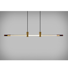 Ra line alexandre joncas gildas le bars suspension pendant light  d armes raliambz2 cable112  design signed nedgis 69584 thumb