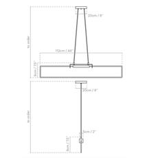 Ra pendant alexandre joncas gildas le bars suspension pendant light  d armes rasuwhox2 cable112  design signed nedgis 69589 thumb