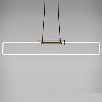 Suspension ra pendant neon blanc l40cm h9cm d armes normal