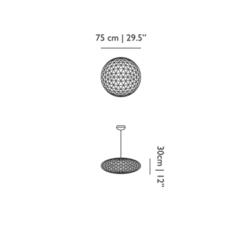 Raimond zafu 75 dimmable  suspension pendant light  moooi molledz75 c  design signed 57366 thumb