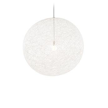 Suspension random light ii large cable 10m blanc o105cm h105cm moooi normal