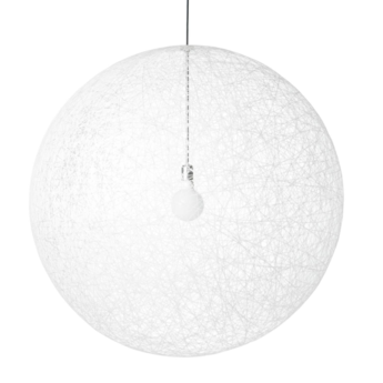 Suspension random light led m blanc led o80cm h80cm moooi normal