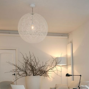 Suspension random light m blanc led o80cm h80cm moooi normal