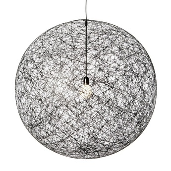 Suspension random light m noir o105cm h105cm 10m de cable moooi copy of normal