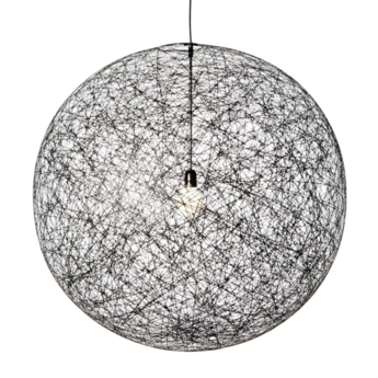 Suspension random light s noir o50cm h50cm 10m de cable moooi normal
