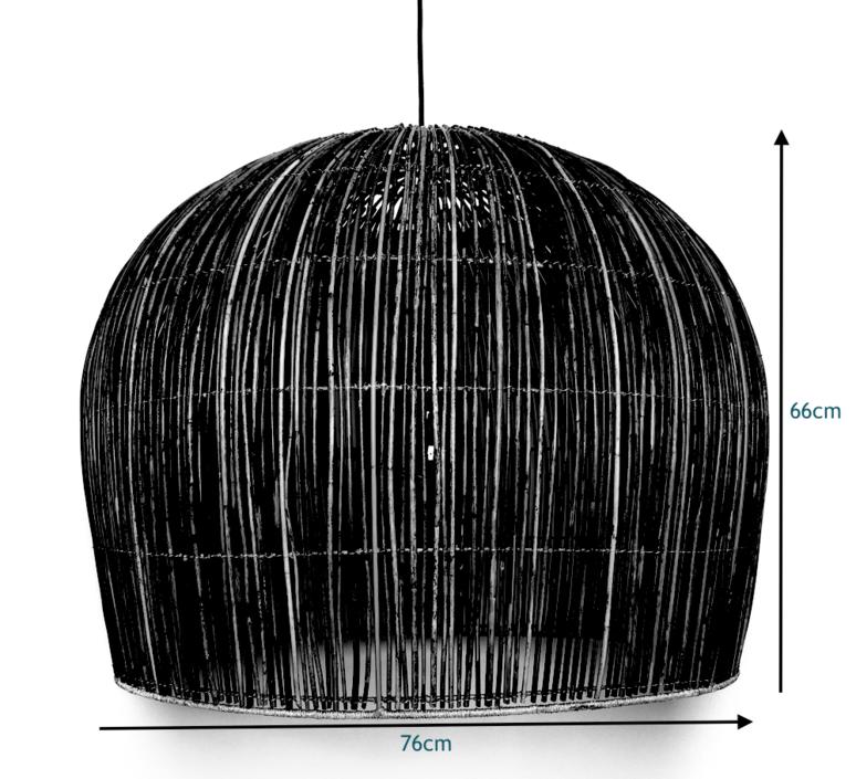 Rattan bell l ay lin heinen et nelson sepulveda suspension pendant light  ay illuminate 640 101 03 p   design signed 37012 product