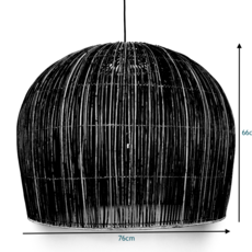Rattan bell l ay lin heinen et nelson sepulveda suspension pendant light  ay illuminate 640 101 03 p   design signed 37012 thumb