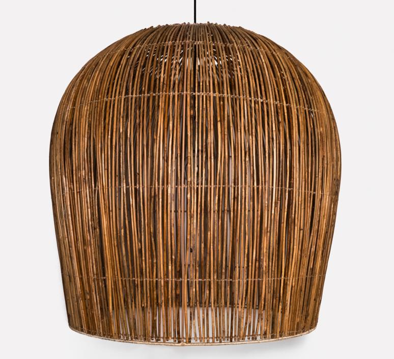 Rattan bulb l ay lin heinen et nelson sepulveda suspension pendant light  ay illuminate 630 101 03 p  design signed 37003 product