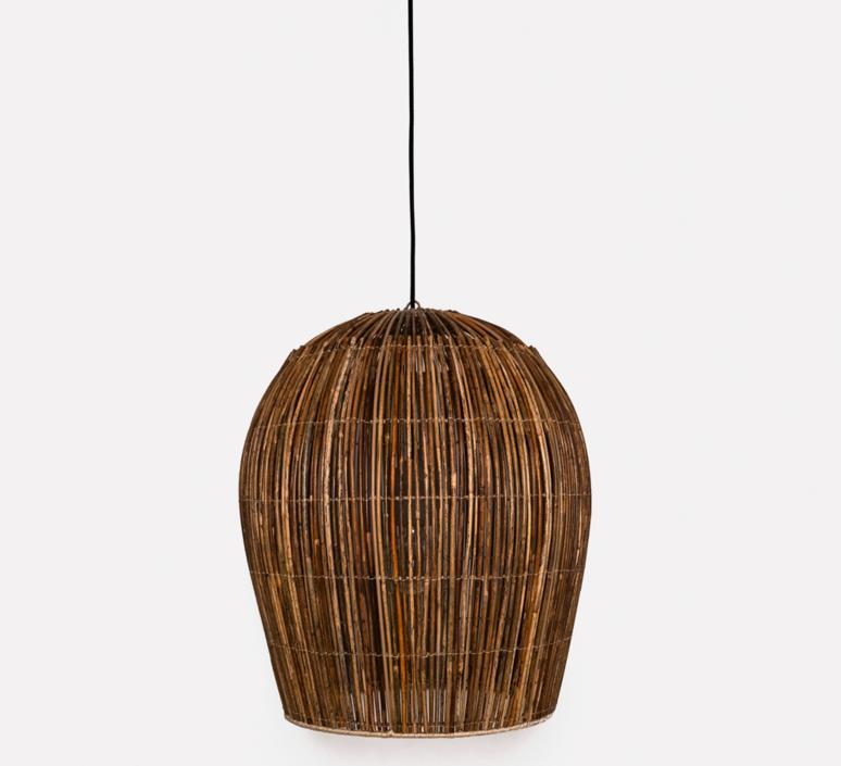 Rattan bulb s ay lin heinen et nelson sepulveda suspension pendant light  ay illuminate 630 101 01 p  design signed 37001 product